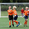 ABYSA Youth Soccer, Summer Shoot Out Soccer Tournament: Knoxville Crush celebrates the winning goal.
