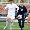 Record-Eagle/Brett A. Sommers Leland won the Division 4 boys soccer state championship Saturday. The Comets defeated Ann Arbor Greenhills 1-0 at Comstock Park High School.