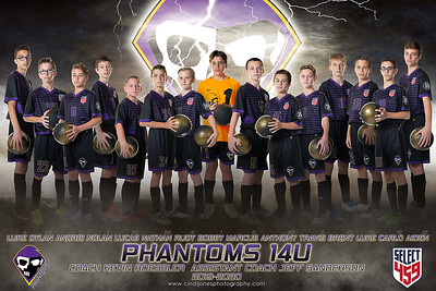 Phantom Soccer with lightning 2018-2019