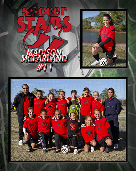 8x10 Madison McFarland Memory Mate 2