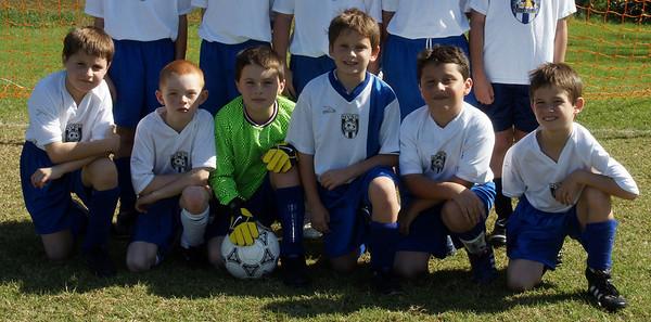 Soccer Team Portrait Oct 23, 2010