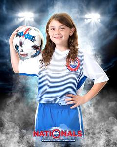 Savannah Nationals Player Print NM10GR