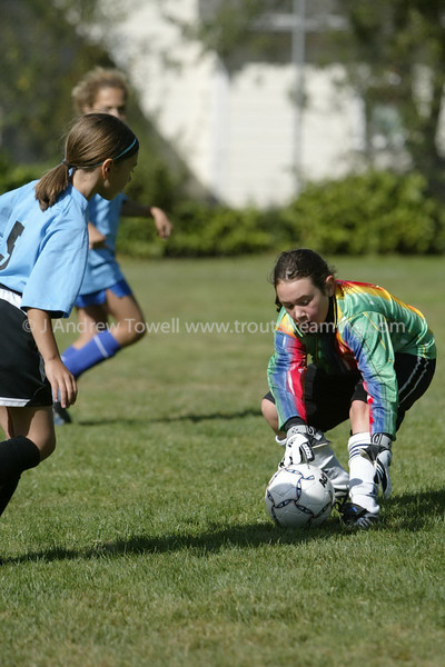 Snapshot gallery of images from the September 8th Blue Angles Girls U10 Running of the Balls soccer scrimmage. 4x6's will print As-Is, all other products and sizes will be hand optimized for best image quality (and reflect my normal pricing). Small web quality digital jpg's available upon request for any print ordered. Copyright © 2007 J. Andrew Towell All Rights Reserved. Please contact the copyright holder at troutstreaming@gmail.com to discuss any and all usage rights.