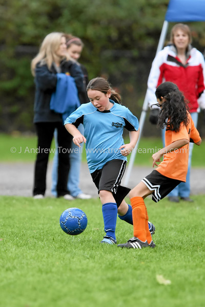 Snapshot gallery of images from the October 21st Blue Angles Girls U10 soccer match. 4x6's will print As-Is, all other products and sizes will be hand optimized for best image quality (and reflect my normal pricing). Small web quality digital jpg's available upon request for any print ordered. Copyright © 2007 J. Andrew Towell All Rights Reserved. Please contact the copyright holder at troutstreaming@gmail.com to discuss any and all usage rights.