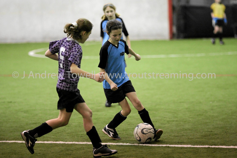 Snapshot gallery of images from the March 9th 2008 Blue Angles Girls U11 Snohomish Indoor Soccer match. 4x6's will print As-Is - given the low light conditions in the gym I am not offering larger products except by special request. Copyright © 2008 J. Andrew Towell All Rights Reserved. Please contact the copyright holder at troutstreaming@gmail.com to discuss any and all usage rights.