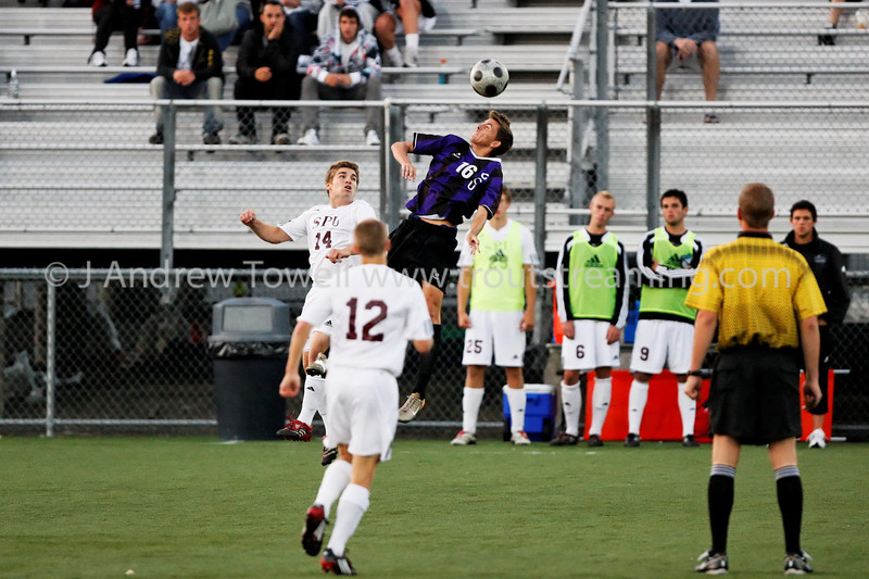 "Images from the 2008 Seattle Pacific University Falcons Soccer match versus  Grand Canyon University Antelopes at Interbay Stadium in Seattle Washington in NCAA Division II play. Images have been batch processed for display on the web. 4x6 prints will be made 'as-is' and are priced at a substantial discount, all other sizes and products will be post-processed by hand to maximize image quality (and reflect my usual pro pricing).  Small digital images for web use are available on request with any print purchase. Images may be used for personal viewing, but may not be used for any commercial purposes or altered in any form without the express prior written permission of the copyright holder, who can be reached at troutstreaming@gmail.com Copyright © 2007 J. Andrew Towell   <a href=""http://www.troutstreaming.com"">http://www.troutstreaming.com</a> . <br /> <br /> As always, feedback - good and bad - is always appreciated!"