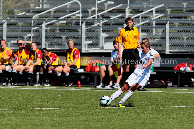 """Images from the 2011 Vancouver Whitecaps v Atlanta Silverbacks Womens W-League USL game versus at Starfire Stadium in Renton Washington.  Copyright © 2011 J. Andrew Towell   <a href=""""http://www.troutstreaming.com"""">http://www.troutstreaming.com</a> troutstreaming@gmail.com"""