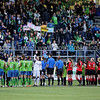 "Images from the 2012 Seattle Sounders Women versus Seattle University Redhawks at Starfire Stadium in Renton Washington.  Copyright © 2012 J. Andrew Towell   <a href=""http://www.troutstreaming.com"">http://www.troutstreaming.com</a> troutstreaming@gmail.com"