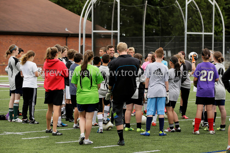 """Images from the 2012 Bendixen Goalkeeping Academy  Copyright © 2012 J. Andrew Towell   <a href=""""http://www.troutstreaming.com"""">http://www.troutstreaming.com</a> troutstreaming@gmail.com"""