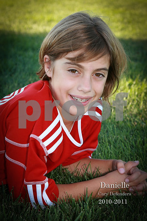 2010-2011 U10 girls red