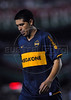 Juan Roman Riquelme of Boca Juniors team walks off the field at the end of their Copa Libertadores second leg semi-final soccer match against Fluminense in Maracana stadium, Rio de Janeiro, Brazil, June 4, 2008. Fluminense defeated Boca Juniors, of Argentina, 3-1 and advanced to their first ever Libertadores Cup final.   (Austral Foto/Renzo Gostoli)