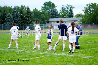 2010-09-09 JFK Soccer Girls Varsity vs Prior Lake