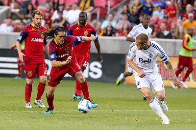 MLS: JUN 04 Vancouver Whitecaps at Real Salt Lake