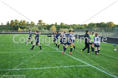 2011-09-08 JFK Soccer Girls varsity @ Eastview