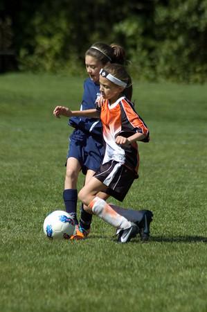 2011.09.17 U11 Girls Soccer at Marlboro