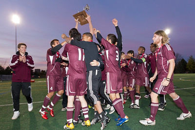 Marauders celebrate their gold medal win