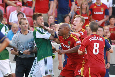 SOCCER: JUL 07 MLS - Timbers at Real Salt Lake