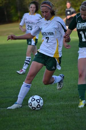 2012 Girls Varsity Soccer Montpelier 091912