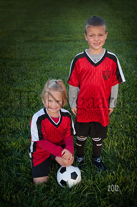 Avery and Trevor Smith U-8 Fall Soccer_