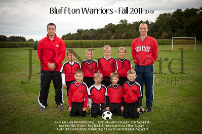 Bluffton Warriors U-8 Fall 2011 (10 of 10)