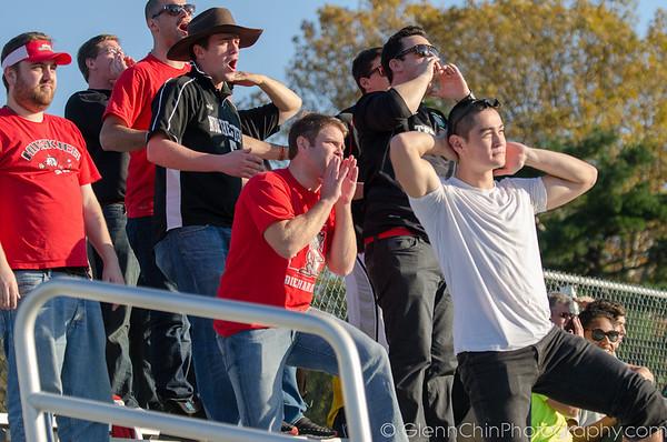 Rowdy Northeastern fans