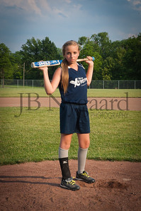 2013 Girls softball travel team-28