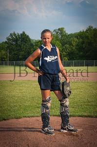 2013 Girls softball travel team-25
