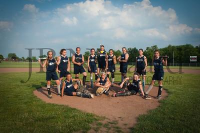 2013 Girls softball travel team-17