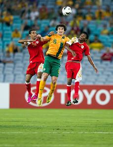 FIFA Asian Qualifier Australia v Oman 26 March 2013