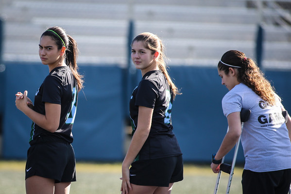 RE Girls' Soccer Regionals at Gulliver