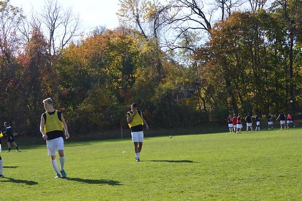 2014-15 Men's Soccer 110414 game