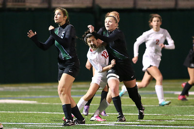 Girls Soccer.  Ransom vs.MAST,  Ransom lost 4-3.  January 15th, 2014