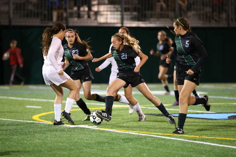 Girls Soccer.  Ransom vs.MAST,  Ransom lost 4-3.  January 15th, 2014