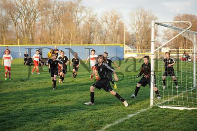 4-17-15 Bluffton U-12  (Eden's team) vs Glass City-50