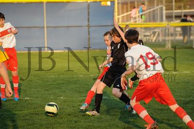 4-17-15 Bluffton U-12  (Eden's team) vs Glass City-75