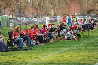 4-17-15 Bluffton U-12  (Eden's team) vs Glass City-41