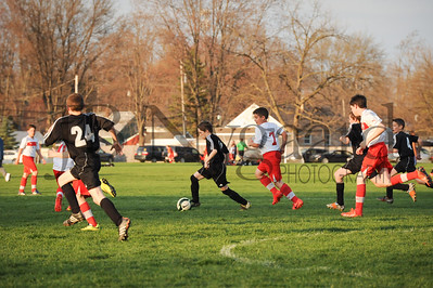 4-17-15 Bluffton U-12  (Eden's team) vs Glass City-38