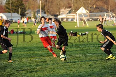 4-17-15 Bluffton U-12  (Eden's team) vs Glass City-56