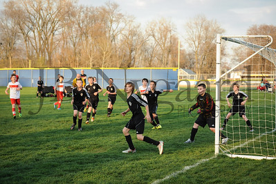 4-17-15 Bluffton U-12  (Eden's team) vs Glass City-51