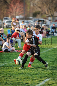 4-17-15 Bluffton U-12  (Eden's team) vs Glass City-59