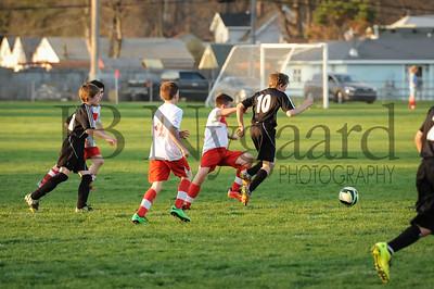 4-17-15 Bluffton U-12  (Eden's team) vs Glass City-68
