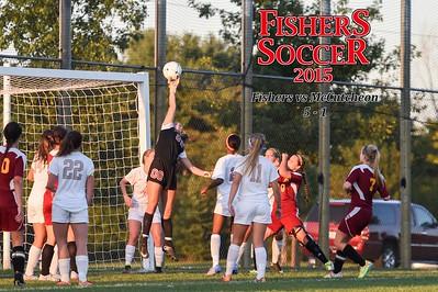 2015 Girls Var Soccer - McCutcheon