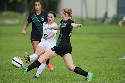 Ransom Everglades vs. St. Brendan Highs School.  November 14, 2015.  Score 2-2