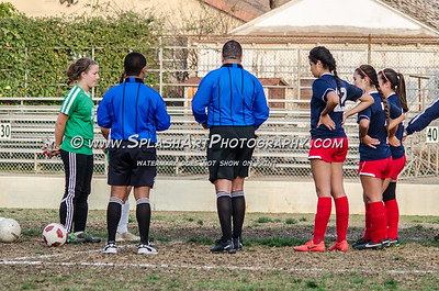 2015 Soccer Eagle Rock Girls vs La Salle 12Jan2015