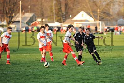 4-17-15 Bluffton U-12  (Eden's team) vs Glass City-80