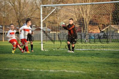 4-17-15 Bluffton U-12  (Eden's team) vs Glass City-34