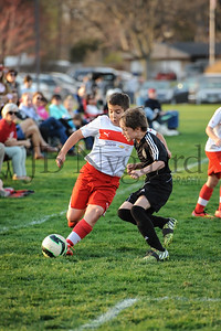 4-17-15 Bluffton U-12  (Eden's team) vs Glass City-60