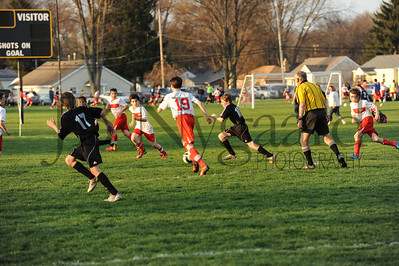 4-17-15 Bluffton U-12  (Eden's team) vs Glass City-54