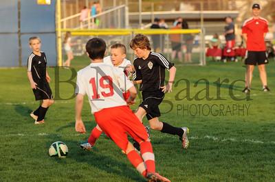 4-17-15 Bluffton U-12  (Eden's team) vs Glass City-74