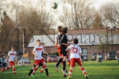 4-17-15 Bluffton U-12  (Eden's team) vs Glass City-46